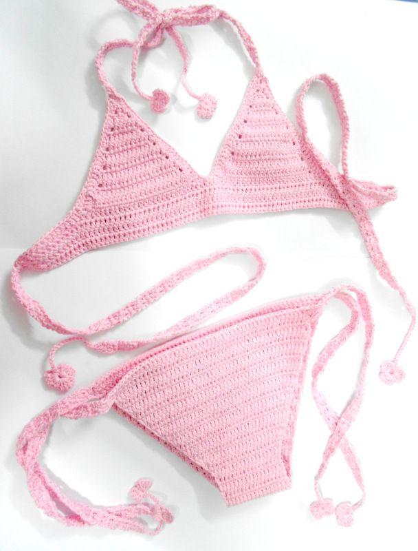 Firefly Crochet: Crochet bikini for 4 years old baby girl