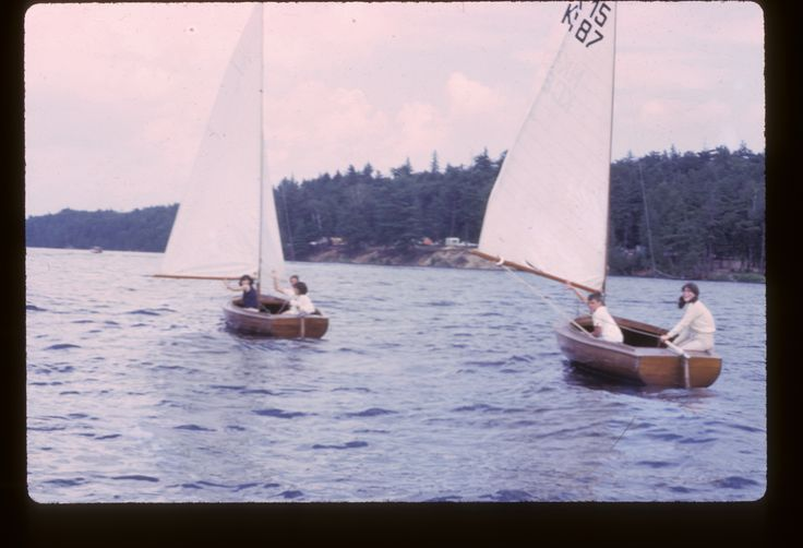 Looks like a sail race! This photo is from 1966. Any guesses who won?