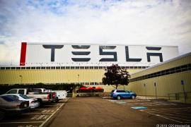 Tesla Factory in Freemont, CA.