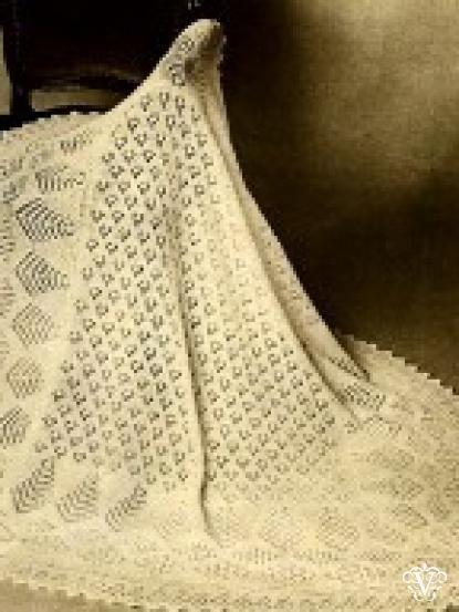 Free Knitting Patterns For Vintage Shawls : Mejores 706 imagenes de Knitted/crochet blankets for babies and kids en Pinte...