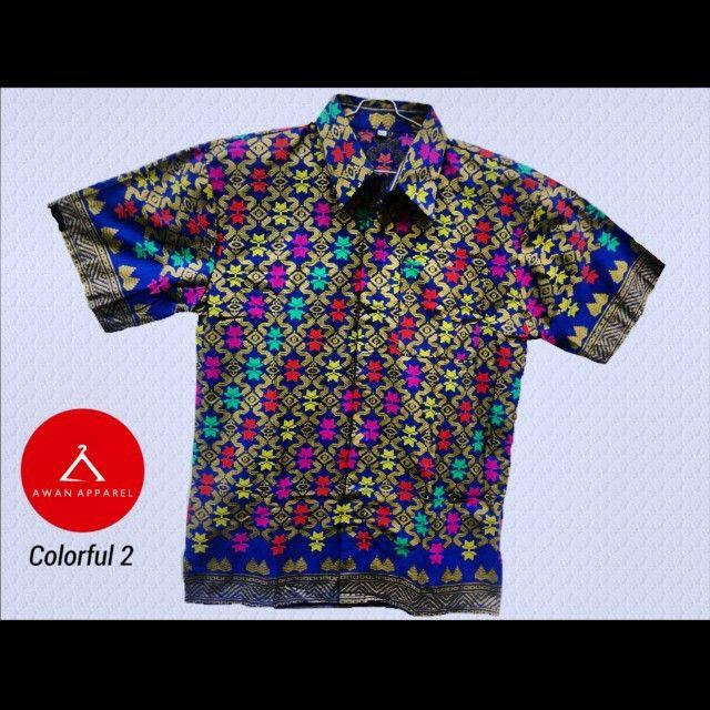 Batik warna colorful