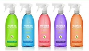 Project Nursery is having a Method cleaner give away, Clean like a mother with Method