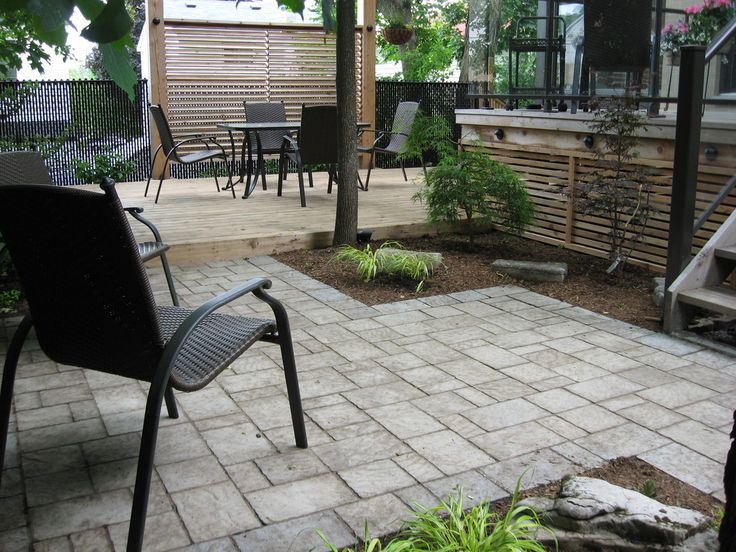 17 best ideas about no grass landscaping on pinterest for Back garden designs without grass