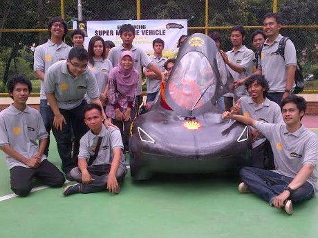 Wouw 1 Liter Seribu Km Mobil Masa Depan Ciptaan Mahasiswa UI