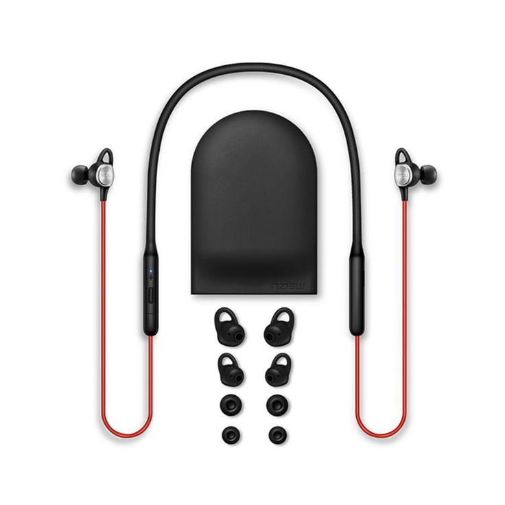 Meizu EP52 Sports Bluetooth Earphones Portable BT4.1 Headset Sales Online black red - Tomtop  smartphones cellphones mobile android accessories