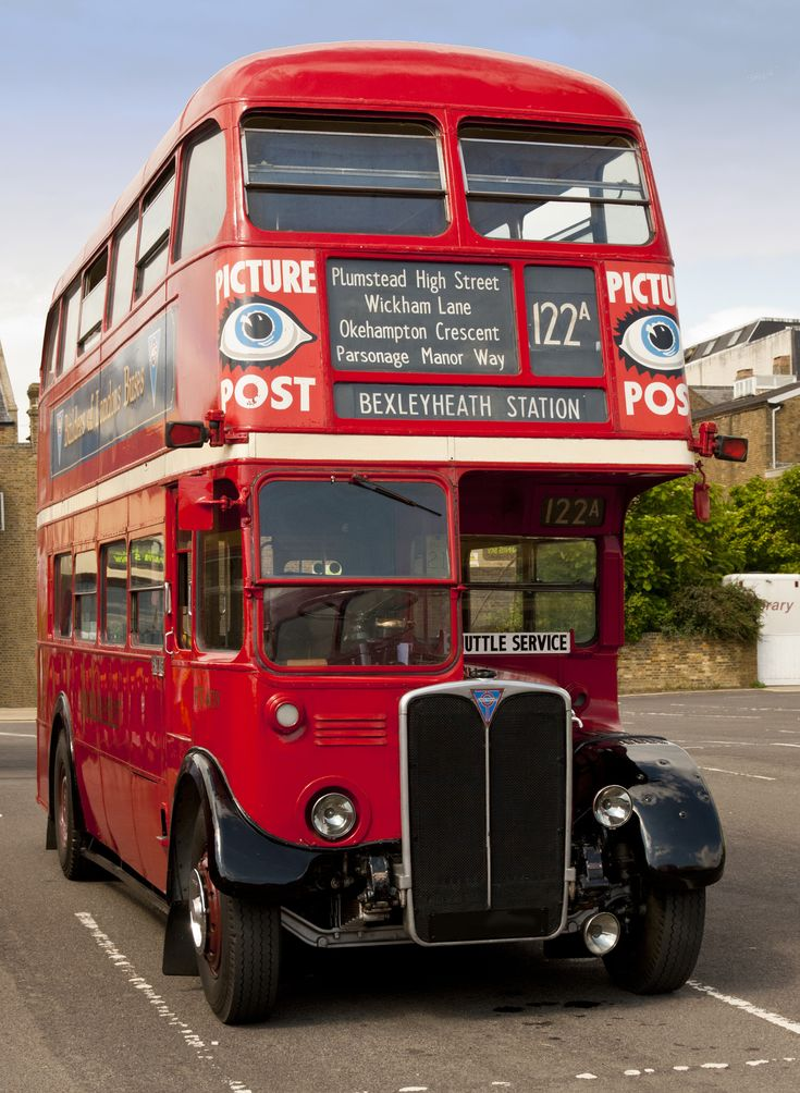 London Transport RT bus