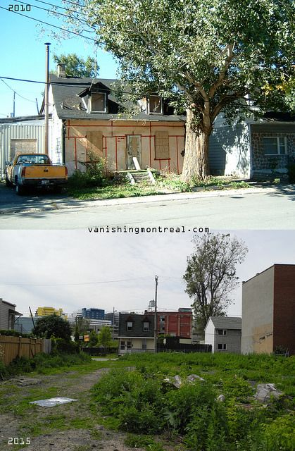 Before / After : Turcot street