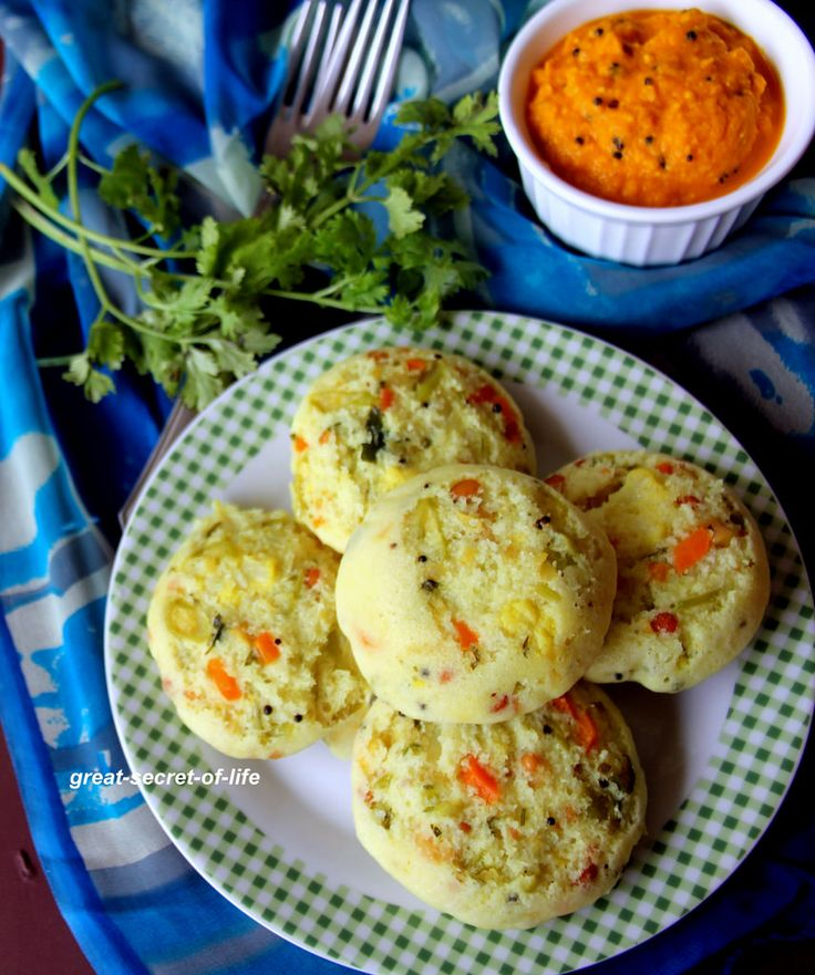 Masala Idli - Mixed Vegetable Idli