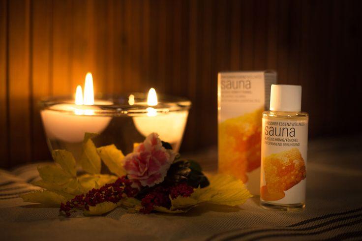 Riittoisa saunatuoksu Hunaja-Fenkoli  Hunaja-Fenkoli saunatuoksu rauhoittaa hermoja. #sauna http://www.salonsydan.fi/tuote/riittoisa-saunatuoksu-hunaja-fenkoli/