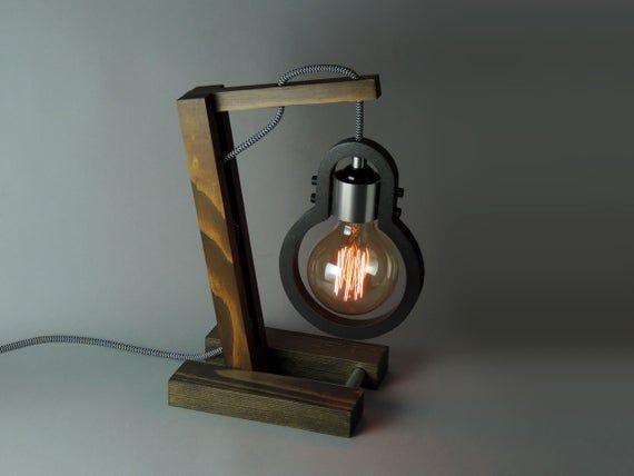 Desk Lamp Lp 1 A Etsy Desk Lamp Lamp Retro Desk Lamp