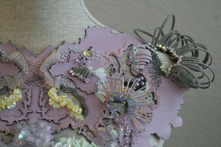 Amy Fox textiles (detail), Loughborough University Degree show 2013