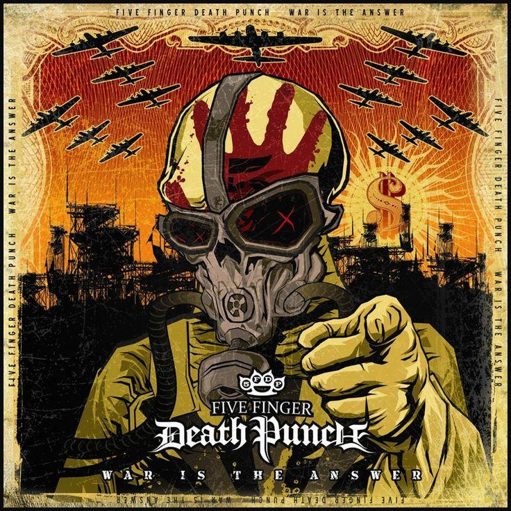 FOLK-METAL-MUSIk: Five Finger Death Punch - Discografíia