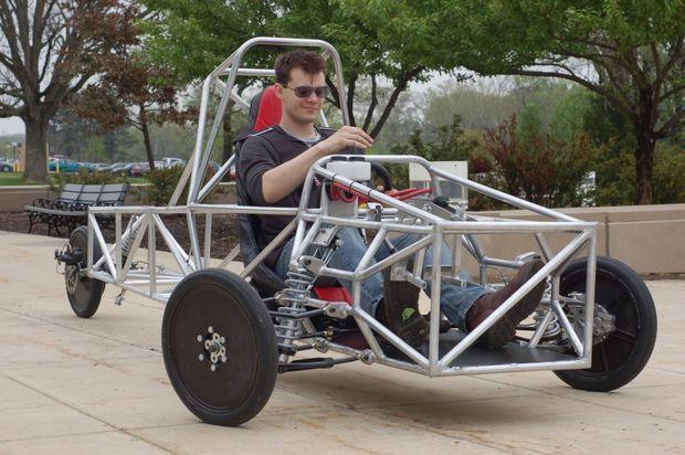 Imagen de Ingeniería A 3 ruedas Chasis de vehículos