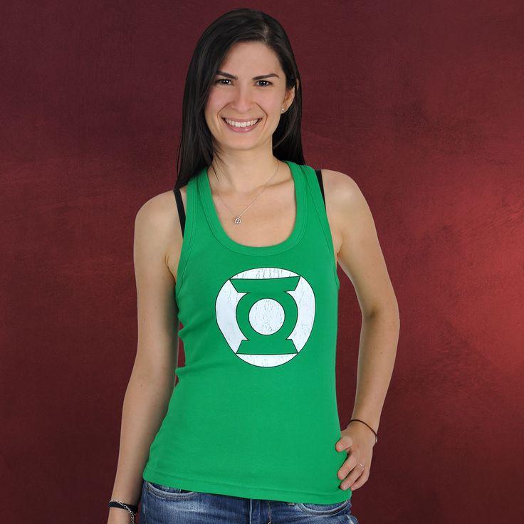 Green Lantern Top in M