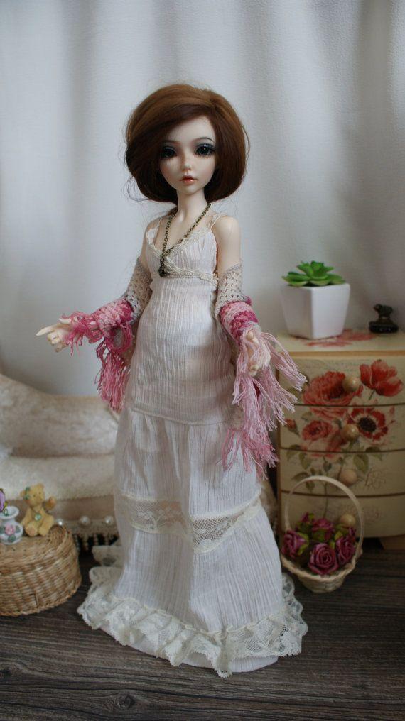Crochet shawl for MSD BJD doll. by CocoDolls on Etsy