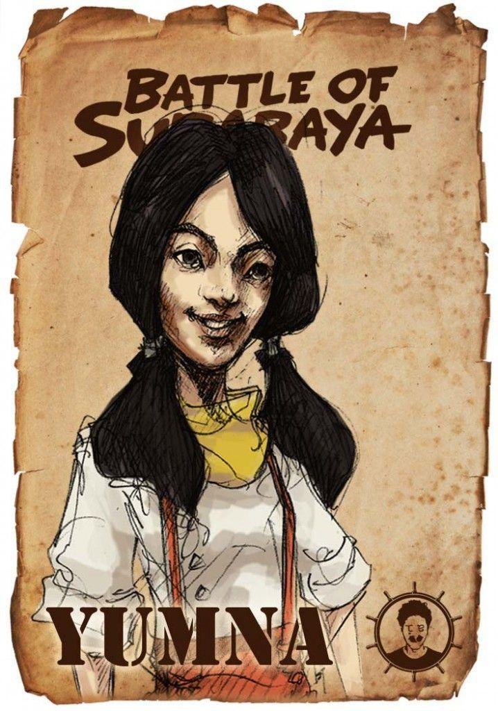 Yumna Fanart by Alvin Syahbana