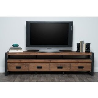 Shop for Kosas Home Brenda Reclaimed Pine 4-drawer TV Stand. Get free shipping at Overstock.com - Your Online Furniture Outlet Store! Get 5% in rewards with Club O!