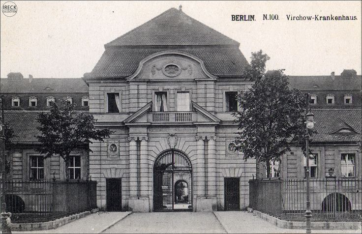 Rudolf Virchow Krankenhaus Klinik Berlin ca 1890