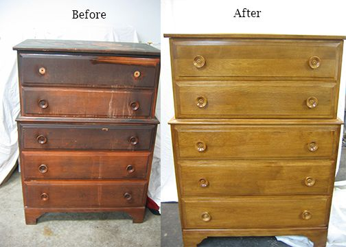Wood Chest Repair From Fire Damage Work By: Furniture Medic By Wood Restore