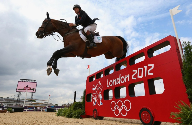 Day twelve: Nick Skelton of Great Britain riding Big Star in the Individual Jumping. GB and their riders fell just short in a tense event.