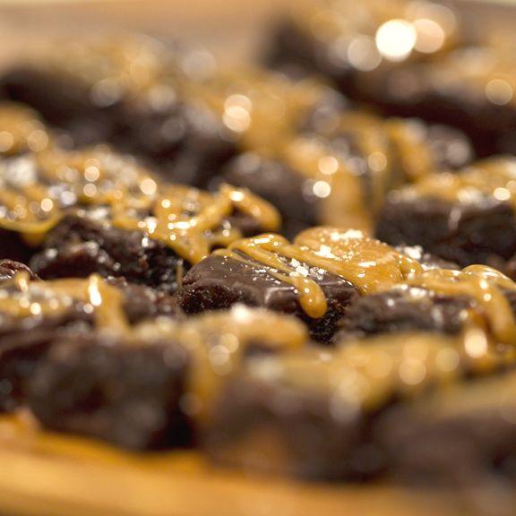 Recipe:  Salted Carmel Brownies