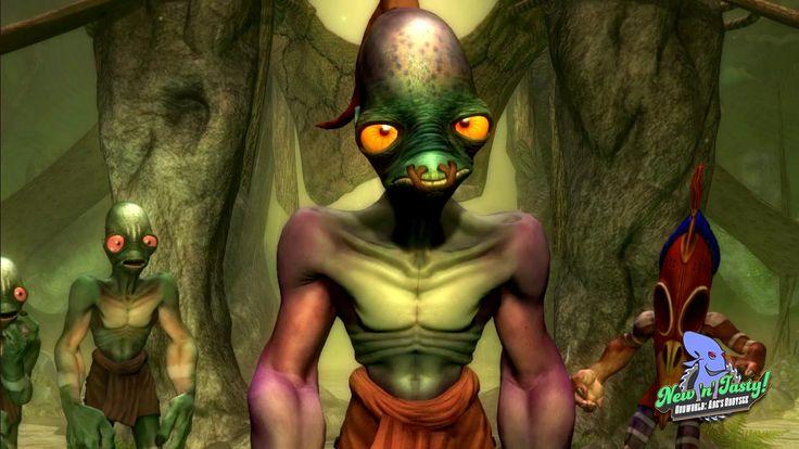 Oddworld: New 'n' Tasty heading to PC, PS3 & Xbox One  #oddworld #newntasty #pc #ps3 #xboxone #gaming #news #vgchest