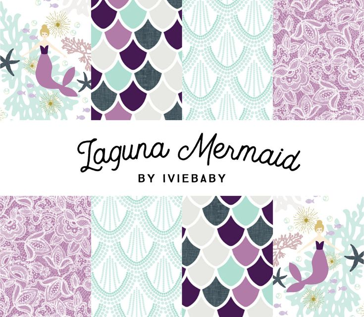 Laguna Mermaid Bedding. Baby Bedding. Mermaid Baby Bedding. Purple Mermaid Baby Bedding. Crib Sheet. Crib Skirt. Mermaid Nursery. by Iviebaby on Etsy https://www.etsy.com/listing/490853104/laguna-mermaid-bedding-baby-bedding