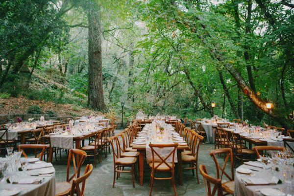 ranch romantic wedding
