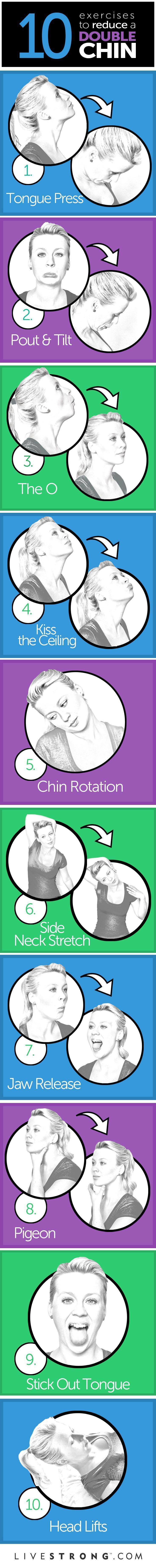 Have all your selfies sprouted second chins lately? Thankfully, neck and chin toning can be achieved without surgery -- all it takes is adding a few...