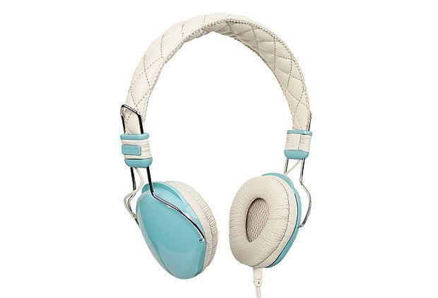 Amplitone Headphones, Turquoise on OneKingsLane.com