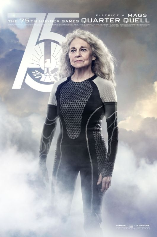 Quarter Quell Tribute from District 4 - Mags