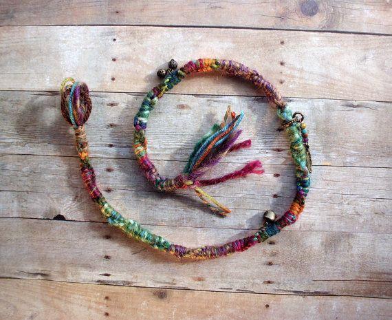 Twisted Bohemain Charm Hair Extension Hippie Tribal Hair wrap