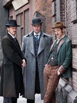 Ripper Street  - almost excellent but characters defeated by the scripts!