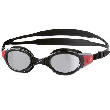 Speedo Futura Biofuse Aynalı Yüzücü Gözlüğü - Siyah/Kırmızı