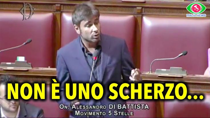 DAL CARCERE ALLA CAMERA DEI DEPUTATI... NON È UNO SCHERZO - ALESSANDRO D...