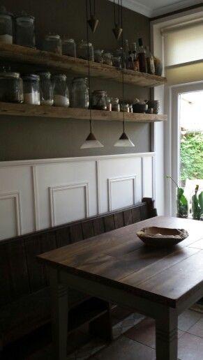 Krijtbord Achterwand Keuken : : Kitchen/ Keuken landelijke stijl op Pinterest – Doe-het-zelf en Met