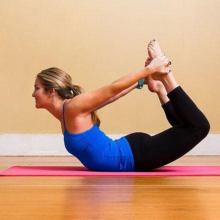 Debloat With Yoga: 4 Poses to Help  While a proper diet and plenty of exercise are the real prescription for flat-belly success, taking time for a little yoga can assist when an uncomfortable, distended belly needs a little debloating. The following four asanas aid in digestion and will help you feel better faster stretching tips, flexibility