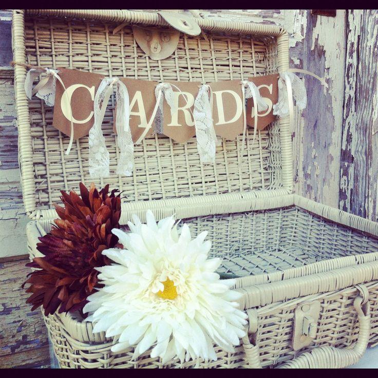 Wedding Card Basket Box Cards By