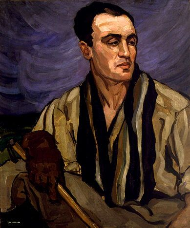 Tamara de Lempicka - Portrait of a Polo Player