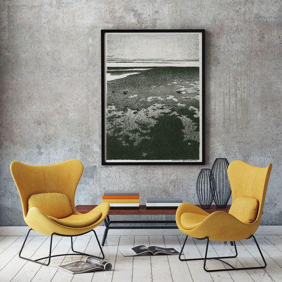Drawing of Qualicum beach Canada reproduction door RoelvanDelden