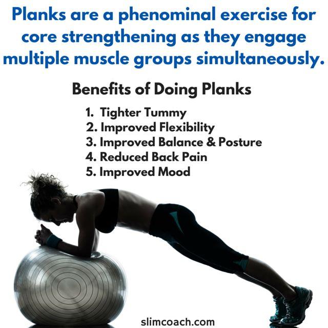 benefits of doing planks