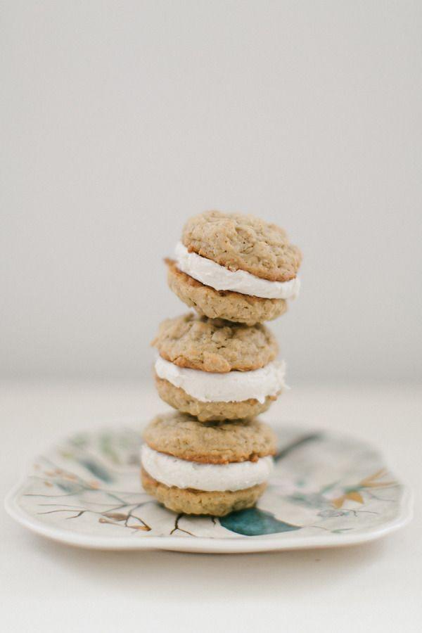 Oatmeal Cream Cookies & Homemade Chocolate Milk from Ruth Eileen – Style Me Pretty
