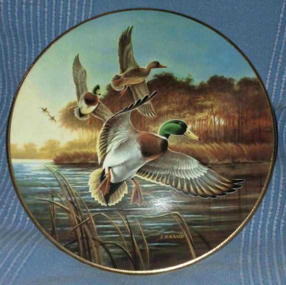 Vintage 1988 Ducks unlimited collector by oldnsalvagedtreasure, $9.00