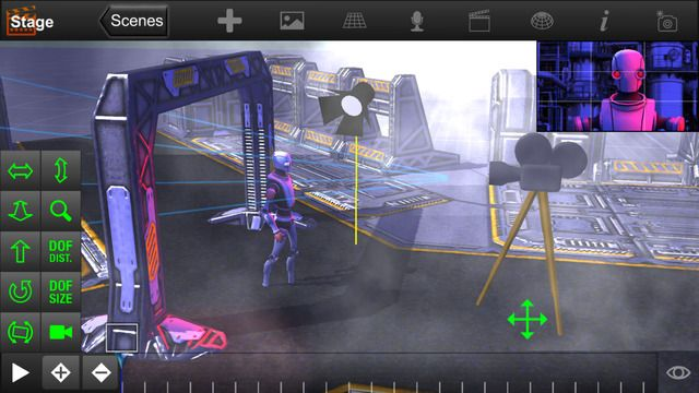 ShotPro by WebGames3D.com | Storyboarding, previsualization for iPhone, iPad