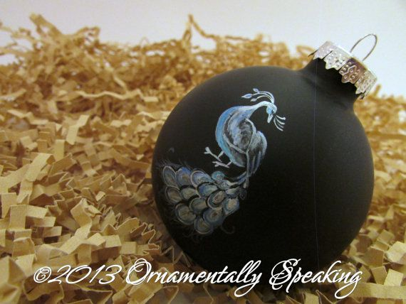 99 best Hand painted Christmas Ornaments images on Pinterest