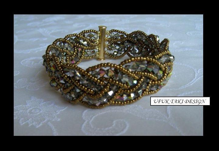 diy bead weaving bracelet instructions