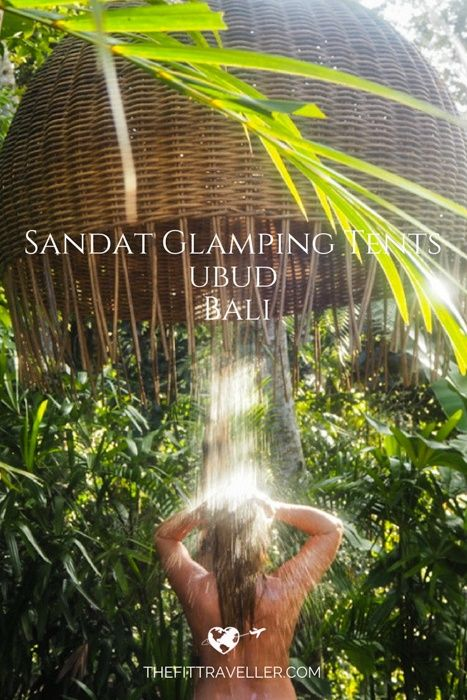 Sandat Glamping Tents | A Beautiful Unique Boutique Resort in Ubud, Bali. When choosing where to stay in Ubud, imagine a luxury tent nestled in the rice fields and you have beautiful Sandat Glamping Tents. Read our full feature. ********** Where to stay in Ubud | Hotels in Ubud | Glamping in Bali | Best Ubud Resorts | Best Ubud Hotels | Boutique Hotels Ubud | Where to Stay in Bali | Romantic Hotels Bali | What to do in Bali | What to do in Ubud |