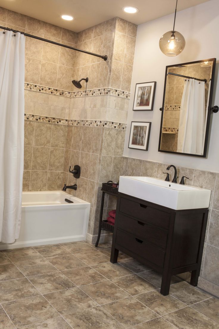 Fliesen Bad Braun: Best 25+ Brown Tile Bathrooms Ideas Only On Pinterest