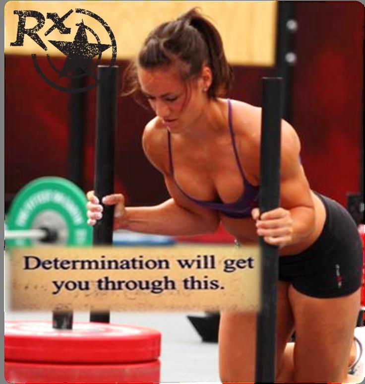 Determination always wins.