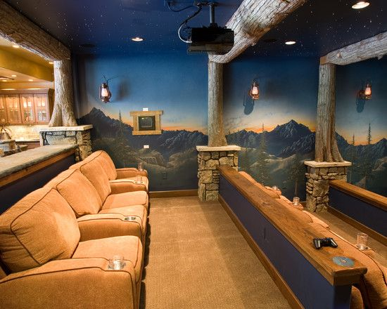 73 Best Images About Theater Rooms On Pinterest Paint